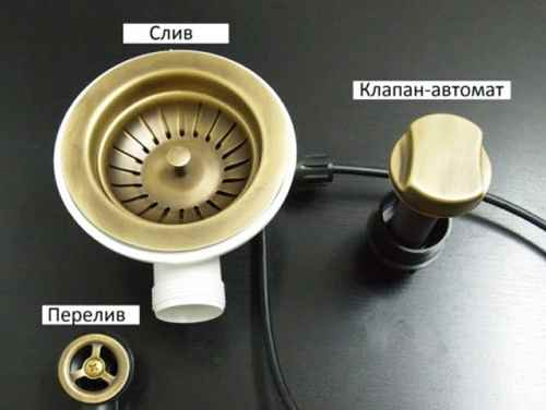 Автоматическая конструкция промывочного клапана