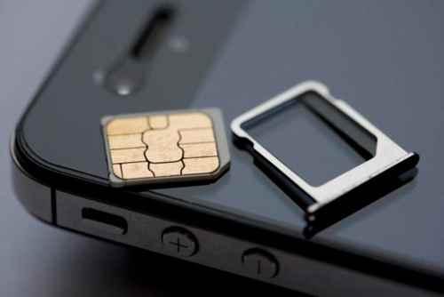 Поврежденная SIM-карта iPhone