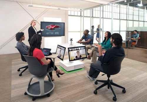 Видеоконференции с рабочим пространством