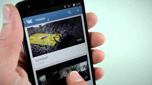 Публикация коротких клипов на Вконтакте