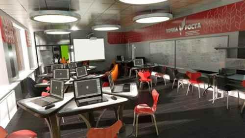 компьютерный класс в школе