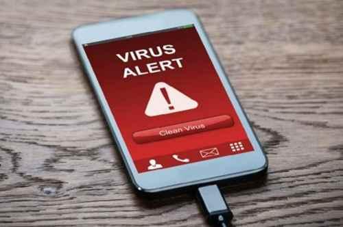 Вирус на смартфоне Андроид