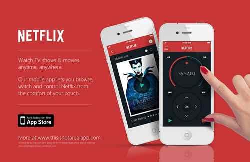 Программное обеспечение Netflix для Android-and-iOS